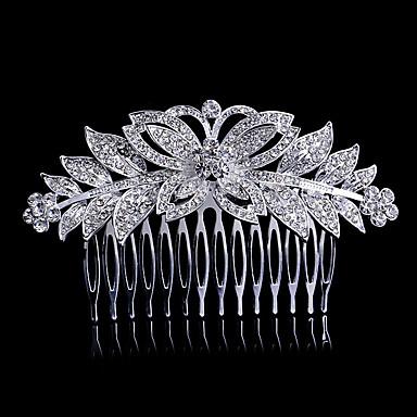 Legura Kose za kosu / Alat za kosu s Crystal / Rhinestone 1 komad Vjenčanje / Special Occasion Glava