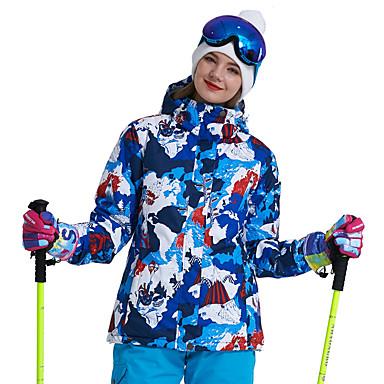 Wild Snow Damskie Kurtka narciarska Odporność na wiatr, Ciepłe, Wentylacja Narciarstwo / Multisport / Sporty zimowe Poliester Kurtki puchowe Odzież narciarska
