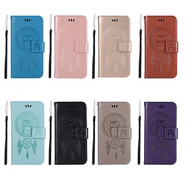 Θήκη Za Sony Sony Xperia XZ2 Premium / Sony Xperia XZ3 / Xperia XZ2 Compact Novčanik / Utor za kartice / sa stalkom Korice Sova Tvrdo PU koža