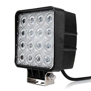 OTOLAMPARA 2pcs Automobil Žarulje 48 W LED visokih performansi 4800 lm 16 LED Svjetlo za rad Za Plićak / Izmicanje / Chevrolet S10 / Ram / Ram1500 Sve godine