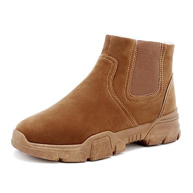 timeless design 152ab 3178a entreprise —Homme Chaussures de de de confort Faux Cuir Hiver Décontracté  Bottes Garder au chaud Noir   Gris   Kaki 5a2e75