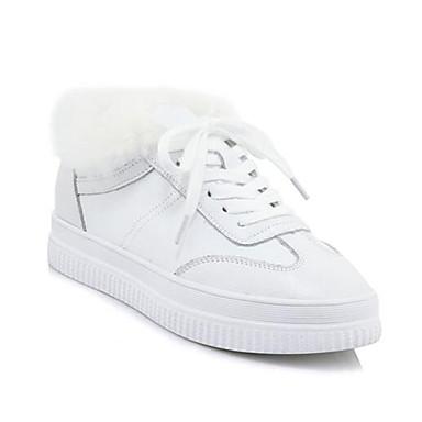Per donna Nappa Inverno scarpe da ginnastica Polacche Bianco   Molte varietà    Bella E Affascinante    Materiali Accuratamente Selezionati    Uomini/Donne Scarpa
