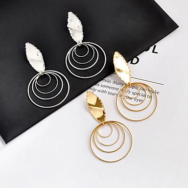 Žene Viseće naušnice Klasičan Moda Naušnice Jewelry Zlato / Pink Za Dnevno Formalan 1 par