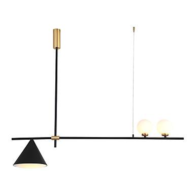 ZHISHU 3-Light sputnjik / Geometrijski Lusteri Ambient Light Slikano završi Metal LED, New Design 110-120V / 220-240V Meleg fehér / Bijela