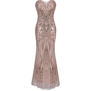 Gatsby Le Déguisements Vintages De Robe Femme Magnifique Soirée Ybfv76yIgm