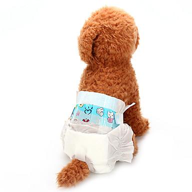 Psi Zdravstvo Hlače Čišćenje Odjeća za psa Jednobojni Obala Mješavina pamuka Netkani Kostim Za Sva doba Uniseks Životinje Običan