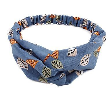 billige Hodeplagg til fest-Bomull / Polyester med Tryk 1 Deler Dagligdagstøy / utendørs Hodeplagg