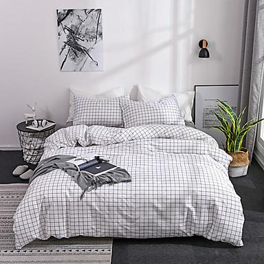 halpa Pussilakanat-Pussilakanasetti setit Stripes / Ripples Polyesteria Printed 3 osainenBedding Sets / 300