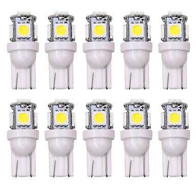 povoljno Svjetla za automobil-SO.K 10pcs T10 Automobil Žarulje 5 W 160 lm LED Svjetla u unutrašnjosti