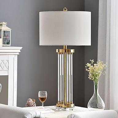 povoljno Svjetiljke i sjenila za lampe-Suvremena Ukrasno Stolna lampa Za Spavaća soba Glass 220V