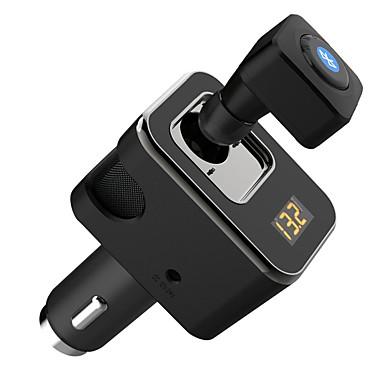 tanie Zestawy samochodowe Bluetooth/Bezdotykowy-Newsmy C803 Słuchawki Bluetooth / Zestawy samochodowe Bluetooth Samochodowy zestaw głośnomówiący Bluetooth / Modulator samochodowy MP3 FM Samochód