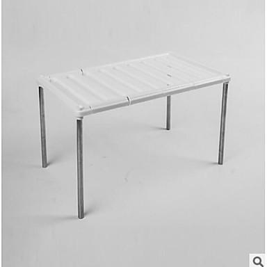 Scarpiera E Appendiscarpe Plastica - Ferro 2 Coppie Unisex Bianco #07011154 E Avere Una Lunga Vita