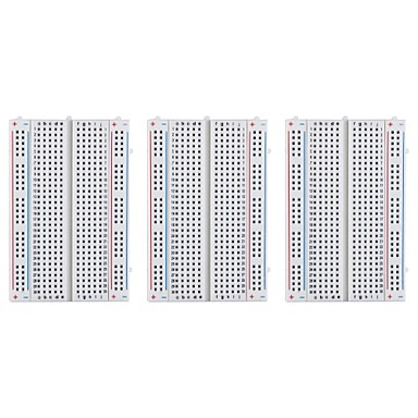 voordelige Elektrische apparatuur & benodigdheden-3-delig 400 tie-points breadboard voor raspberry pi en arduino