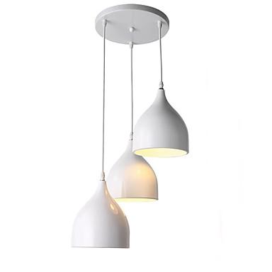 QIHengZhaoMing 3-Light Lusteri Ambient Light Electroplated Metal 110-120V / 220-240V Meleg fehér