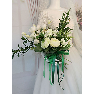 Cvijeće za vjenčanje Buketi Vjenčanje / Zabave Osušeni cvijet / Svila 21-30 cm