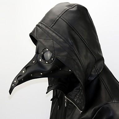 Liječnik plague Steampunk Povorka maski Sve Kostim Mask Crn Vintage Cosplay