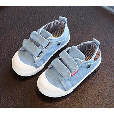 voordelige Babyschoenentjes-Jongens / Meisjes Comfortabel Canvas Sneakers Peuter (9m-4ys) / Little Kids (4-7ys) Magic tape Donkerblauw / Lichtblauw Lente zomer / TPR (Thermoplastisch Rubber)