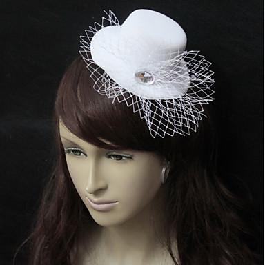 Net / Flanel Fascinators s Crystal / Rhinestone 1 komad Vjenčanje / Special Occasion Glava