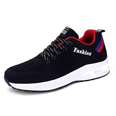 Muškarci Udobne cipele Tissage Volant Proljeće Ležerne prilike Atletičarke tenisice Hodanje Prozračnost Sive boje / Plava / Crno / crvena