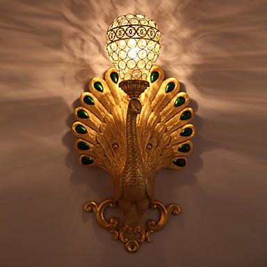 Cool Rustic / Lodge Zidne svjetiljke Spavaća soba Glass zidna svjetiljka 220-240V 40 W