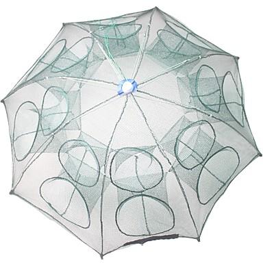 Sklopivi kišobran Ribolov rakova Štit za račiće Net 0.65 m Najlon 3*3 mm Prijenosno Jednostavan za korištenje 16 rupa