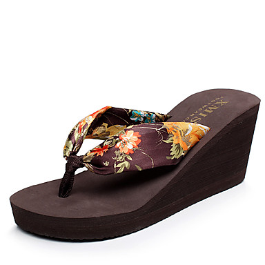 cheap Slippers-Women's Slippers House Slippers Lace Applique Edge Satin Stitching Lace Shoes