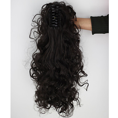 8f11a052d9 Ponytails Hair Piece Curly Classic Synthetic Hair 18 inch Hair Extension  Daily