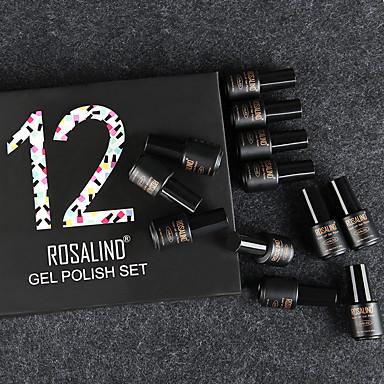 hesapli Tırnak ve Ojeler-Polonya UV Jel Tırnak 7 ml 12 pcs moda / çekicilik Uzun Ömürlü kapalı emmek Nişan / Randevu / Profesyonel moda / çekicilik