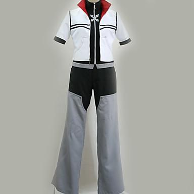 Innoittamana Kingdom Hearts Cosplay Anime Cosplay-asut Cosplay Puvut Moderni Takki / Toppi / Housut Käyttötarkoitus Miesten / Naisten