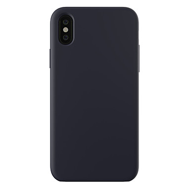 Case For iPhone XR XS XS Max Shockproof / Ultra-thin / Frosted Back Cover Solid Colored Hard PC for iPhone X 8 8 Plus 7 7plus 6s 6s Plus SE 5 5S