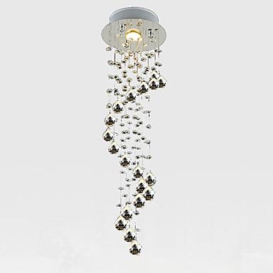 LightMyself™ Kryształ Lampy widzące Downlight Chrom Kryształ Kryształ, Styl MIni 110-120V / 220-240V / GU10