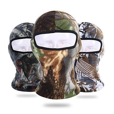 Face Mask UV otporan Prozračnost Ovlaživanje Brzo kemijska Bicikl / Biciklizam Siva Zelena / crna Tamno zelena za Muškarci Žene Odrasli Vježbanje na otvorenom Biljke / Mikroelastično