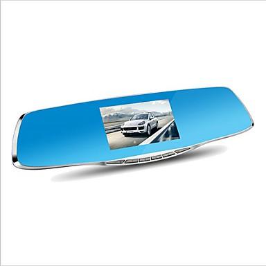 billige Bil-DVR-D860 1080p Bil DVR 170 grader Bred vinkel 4.3 tommers Dash Cam med G-Sensor / Parkeringsmodus / Bevegelsessensor Nei Bilopptaker / Loop-opptak / auto av / på / Innebygd Mikrofon / Fotografi