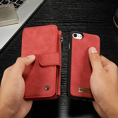 Θήκη Za Apple iPhone 8 / iPhone 7 Novčanik / Utor za kartice / sa stalkom Korice Jednobojni Tvrdo PU koža