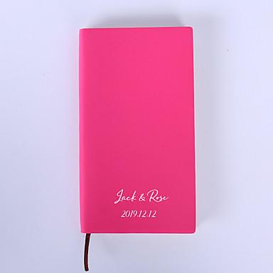 billige Bryllupsgaver-Personalisert Rent papir Notisbok Brud / Brudgom / Brudepike Bryllup / Graduation -