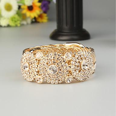Žene Nakit za gležanj Klasičan Stilski Umjetno drago kamenje Narukvica Nakit Zlato Za Vjenčanje Party
