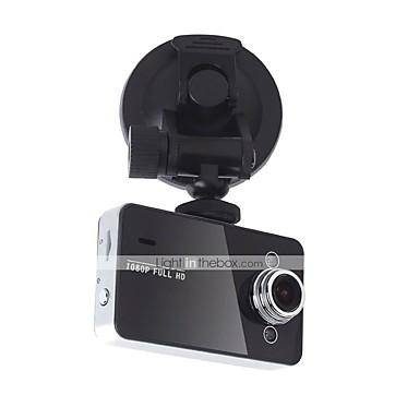billige Bil-DVR-k6000 1080p / full HD 1920 x 1080 bil dvr 120 graders vidvinkel 2,7 tommers dash cam med hdr bilopptaker
