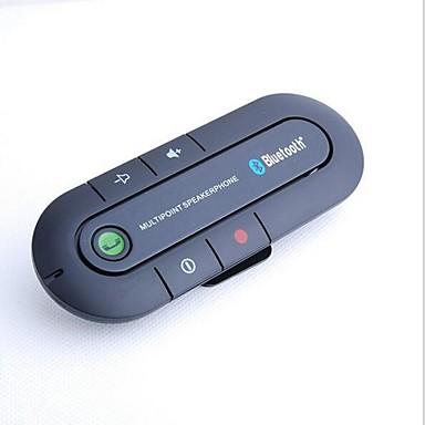 billige Bil Elektronikk-yuanyuanbenben bluetooth 4,1 handsfree system bilmontert klips på bilen solbeskytter, bluetooth bilmonteringssett kan støtte to telefoner samtidig
