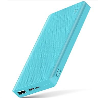 billige Eksterne batterier-xiaomi zmi 10000 mah power bank eksternt batteri 10000mah powerbank bærbar lading type-c toveis hurtig ladning 2,0 for iphone