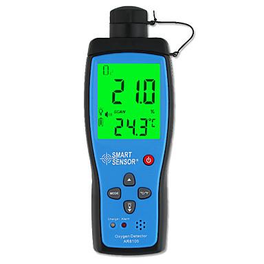 voordelige Test-, meet- & inspectieapparatuur-Smart sensor ar8100 luchtkwaliteit monitor gas meter o2 zuurstof temp detector analyzer handheld tester temperatuur thermometer