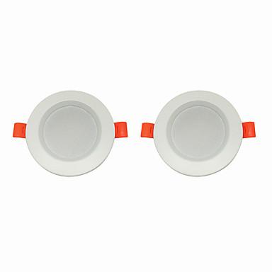 2pcs 5 W 360 lm 10 الخرز LED سهولة التثبيت في فجوة أضواء LED أبيض دافئ أبيض كول 220-240 V سقف المنزل / مكتب غرفة الجلوس / الضيوف