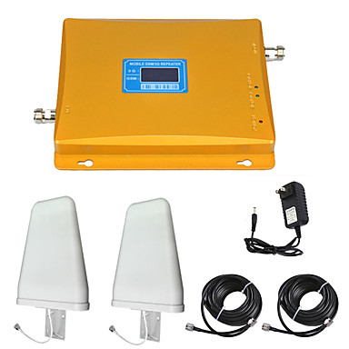 2G/3G Mobile Signal Repeater Signal Amplifier Signal Booster 900/2100 Dual  band GSM/WCDMA
