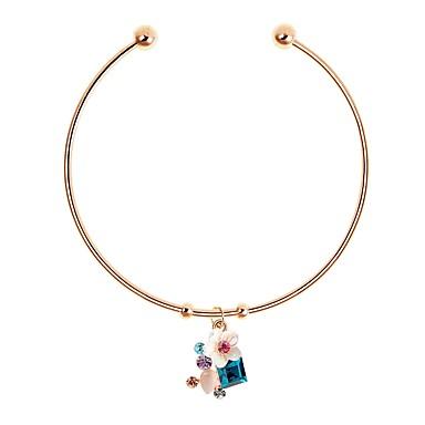 abordables Bracelet-Manchettes Bracelets Femme Classique Elégant simple Bracelet Bijoux Argent Or Rose pour Quotidien Festival