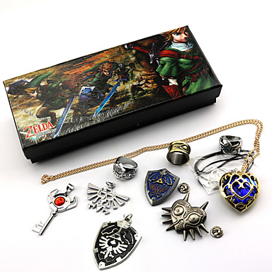 Jewelry Inspired by The Legend of Zelda Cosplay Anime / Video Games Cosplay Accessories Necklace / Brooch Artificial Gemstones / Alloy Men's / Women's 855