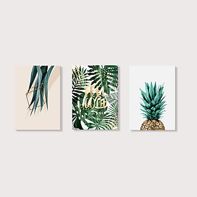 Imprimé Impression sur Toile - Moderne A fleurs / Botanique Moderne