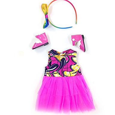 voordelige Poppenaccessoires-Doll accessoires Reborn-poppen Herboren peuter pop Baby meisjes Schattig Kinderen / Tieners Doek Kinderen Baby Unisex Speeltjes Geschenk 4 pcs