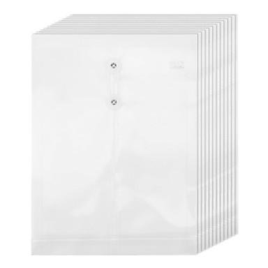 Consegna Veloce 12 Pcs M&g Adm92960 File Delle Cartelle A4 Pp Transparente A Prova Di Umidità #07131664