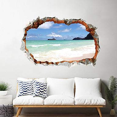 لواصق حائط مزخرفة - لواصق مناظر طبيعية / 3D غرفة الجلوس / غرفة النوم / مطبخ