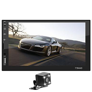 tanie Samochodowy odtwarzacz  DVD-SWM 7784AD+4LED camera 7 in 2 DIN Android 8.1 Samochodowy odtwarzacz multimedialny / Samochodowy odtwarzacz MP5 / Samochodowy odtwarzacz MP4 Ekran dotykowy / MP3 / Wbudowany Bluetooth na Univerzál