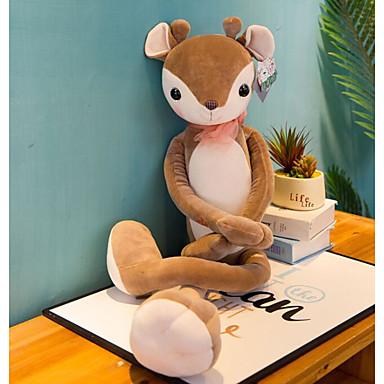 voordelige Knuffels & Pluche dieren-Hert Knuffels & Pluche dieren Dieren Schattig Katoen / Polyester Allemaal Speeltjes Geschenk 1 pcs